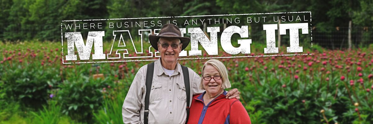 Pictured in the banner above: Wayne and Patti Floyd of Cool Cache Farms in Kenai, Alaska (Josh Genuino / Alaska Dispatch News Creative Services)