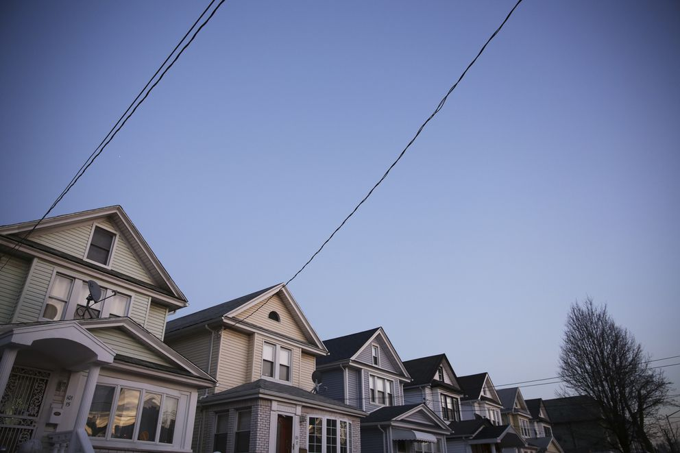FILE — Homes in the Richmond Hill neighborhood of Queens, Jan. 6, 2013. (Damon Winter/The New York Times)