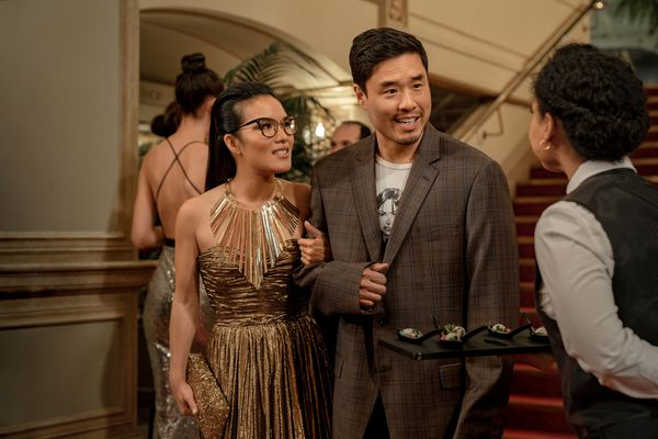 Ali Wong and Randall Park play childhood friends who reunite as adults in
