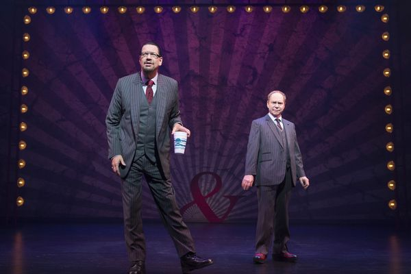 Magic and comedy duo Penn & Teller will perform in Anchorage Friday and Saturday, November 6-7