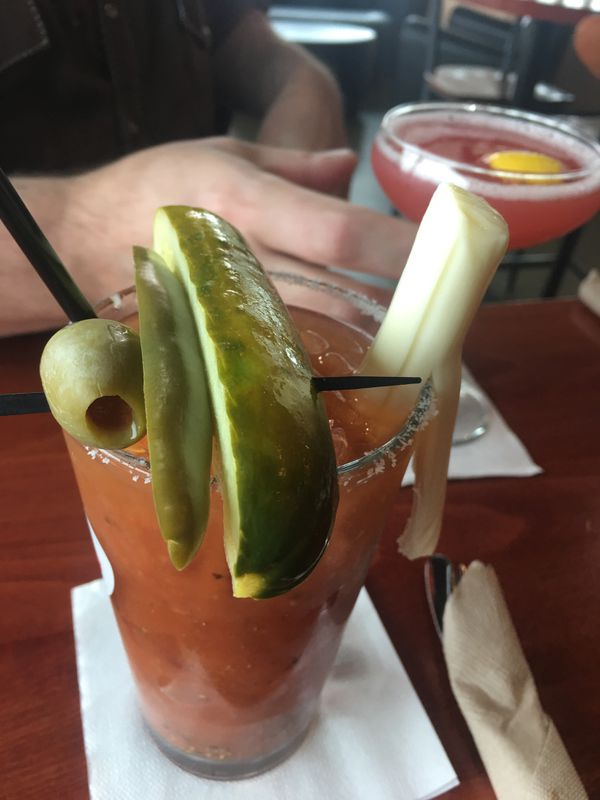 Bloody Mary at Table 6 in Midtown Anchorage. (Photo by Mara Severin)