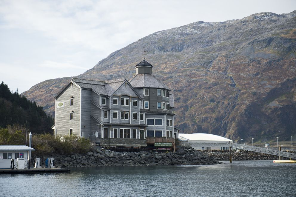 The Inn at Whittier is the only hotel and restaurant on Whittier's waterfront. (Marc Lester / ADN)