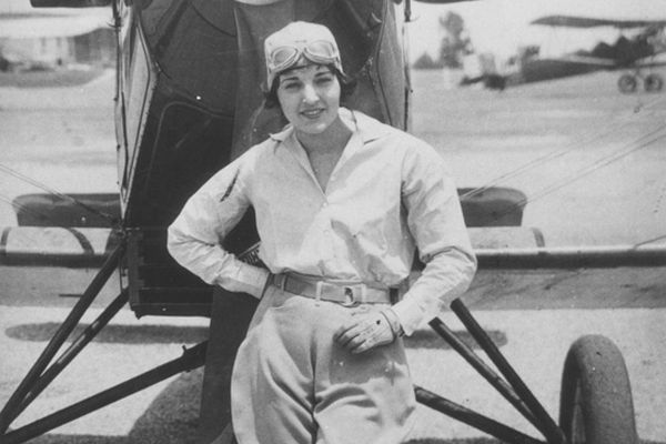 Aviation pioneer and actress Ruth Elder (1902-1977) (Photo via Creative Commons)