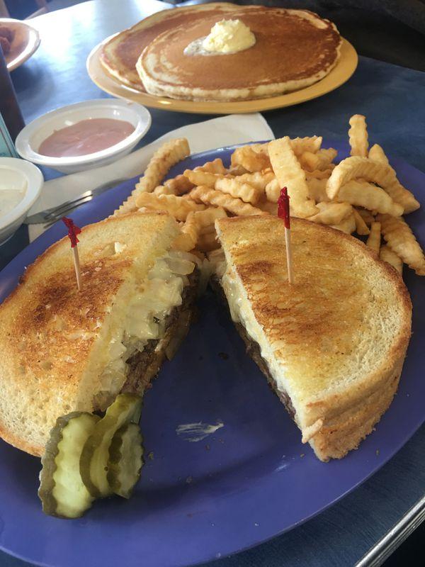 Hollenbeck Burger at Kriner's Burgers and Pies (Photo by Mara Severin)