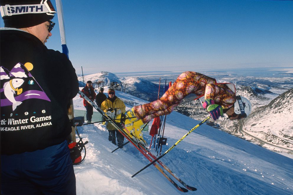 Alpine events at the 1996 Arctic Winter Games were held at Arctic Valley Ski Area. (Bill Roth / ADN archive)