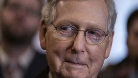 McConnell signals he won't play a leading role in crafting the health care bill Trump wants