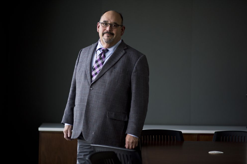 Gregory Razo, CIRI vice president for government contracting, is chair of the Alaska Criminal Justice Commission. (Marc Lester / Alaska Dispatch News)