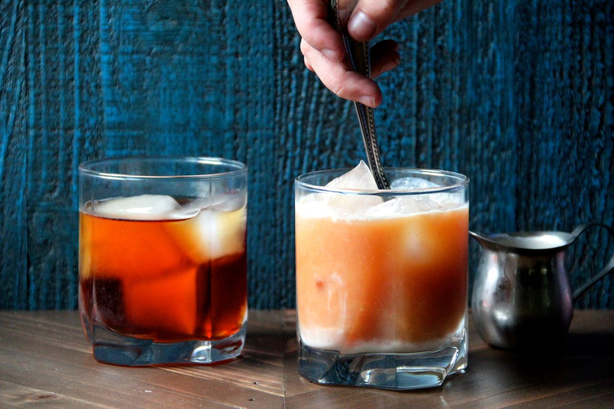 Coconut iced tea (Maya Wilson / Alaska from Scratch)