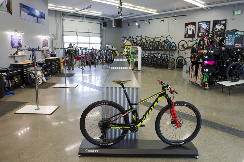 Chain Reaction Cycles is located at 1148 Huffman Road.  (Marc Lester / ADN)