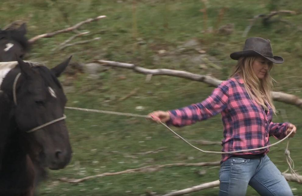 "FILE – Alaska-born singer Jewel on ""Alaska: The Last Frontier"" (Screen capture via Discovery.com)"