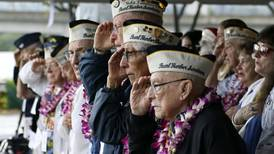 Survivors gather at Pearl Harbor for attack remembrance ceremony