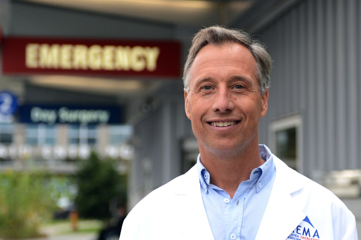 Dr. Daniel Safranek is medical director of the emergency department at Providence Alaska Medical Center. (Erik Hill / Alaska Dispatch News)