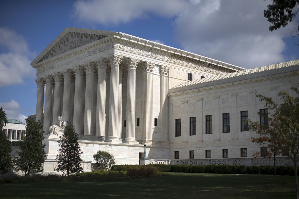In this Oct. 5, 2015 file photo, the Supreme Court is seen in Washington. (AP Photo/Carolyn Kaster, File)