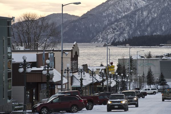 A portion of Seward was under mandatory evacuation orders following an earthquake early January 23, 2018. Large waves never materialized.(Marc Lester / ADN)