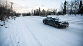 Anchorage-area roads could get icy this evening