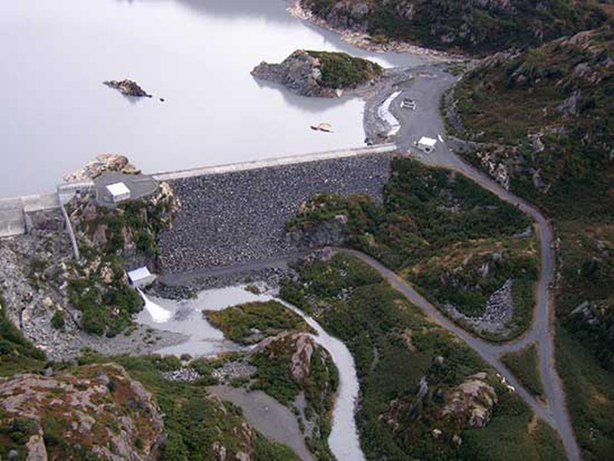 The Bradley Lake Dam (NOAA Fisheries Alaska Regional Office)