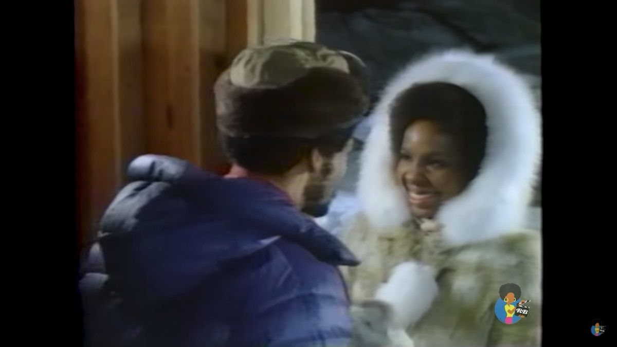 Gladys Knight in a scene from the 1976 film