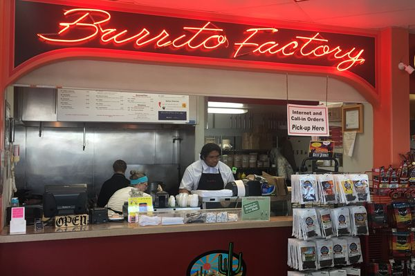 Burrito Factory is a locally owned, family-run Tex Mex eatery housed in a Anchorage Chevron gas station. (Photo by Mara Severin)