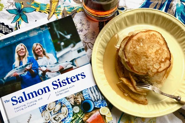 The Salmon Sisters' Winter Caretaker sourdough pancakes (Photo by Kim Sunée)