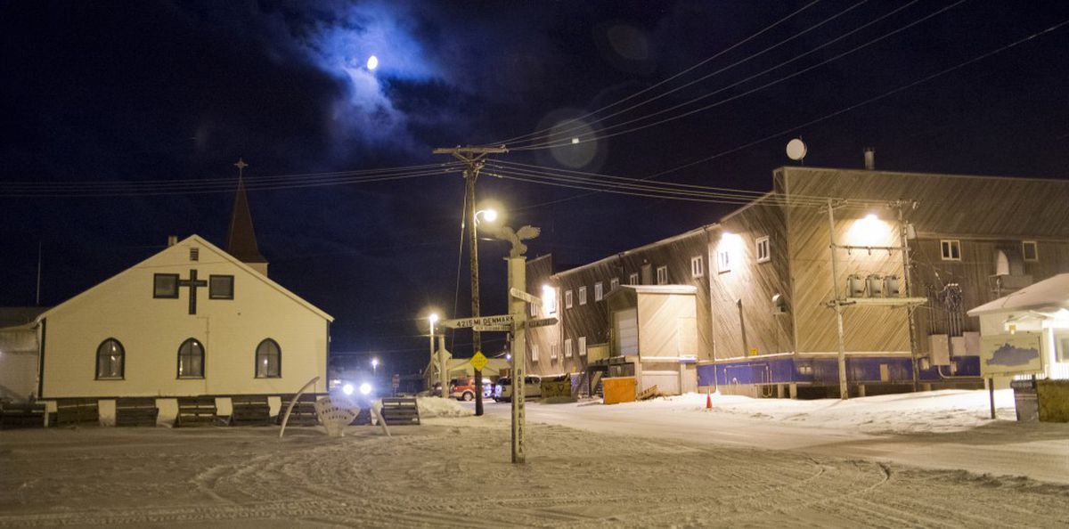 Barrow, the largest town on Alaska's North Slope, has a population of about 4,300. (Marc Lester / ADN archive 2013)