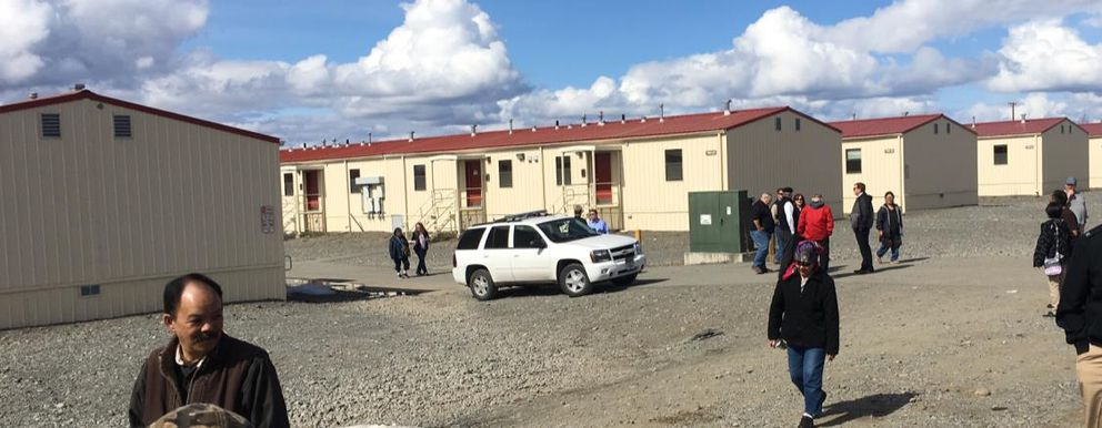 JBER barracks could be part of a plan for housing in the new village of Mertarvik (nine miles from the old village of Newtok)in western Alaska. (Photo provided by Denali Commission)