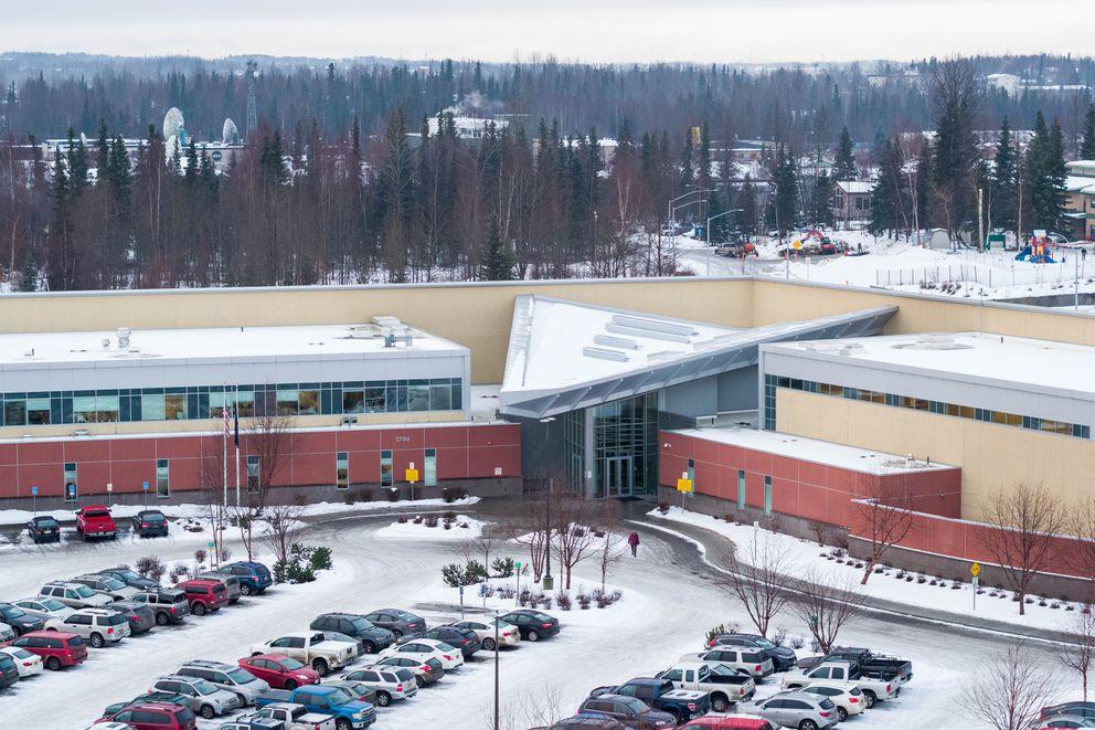 The Alaska Psychiatric Institute, photographed Wednesday, Jan. 30, 2019. (Loren Holmes / ADN)