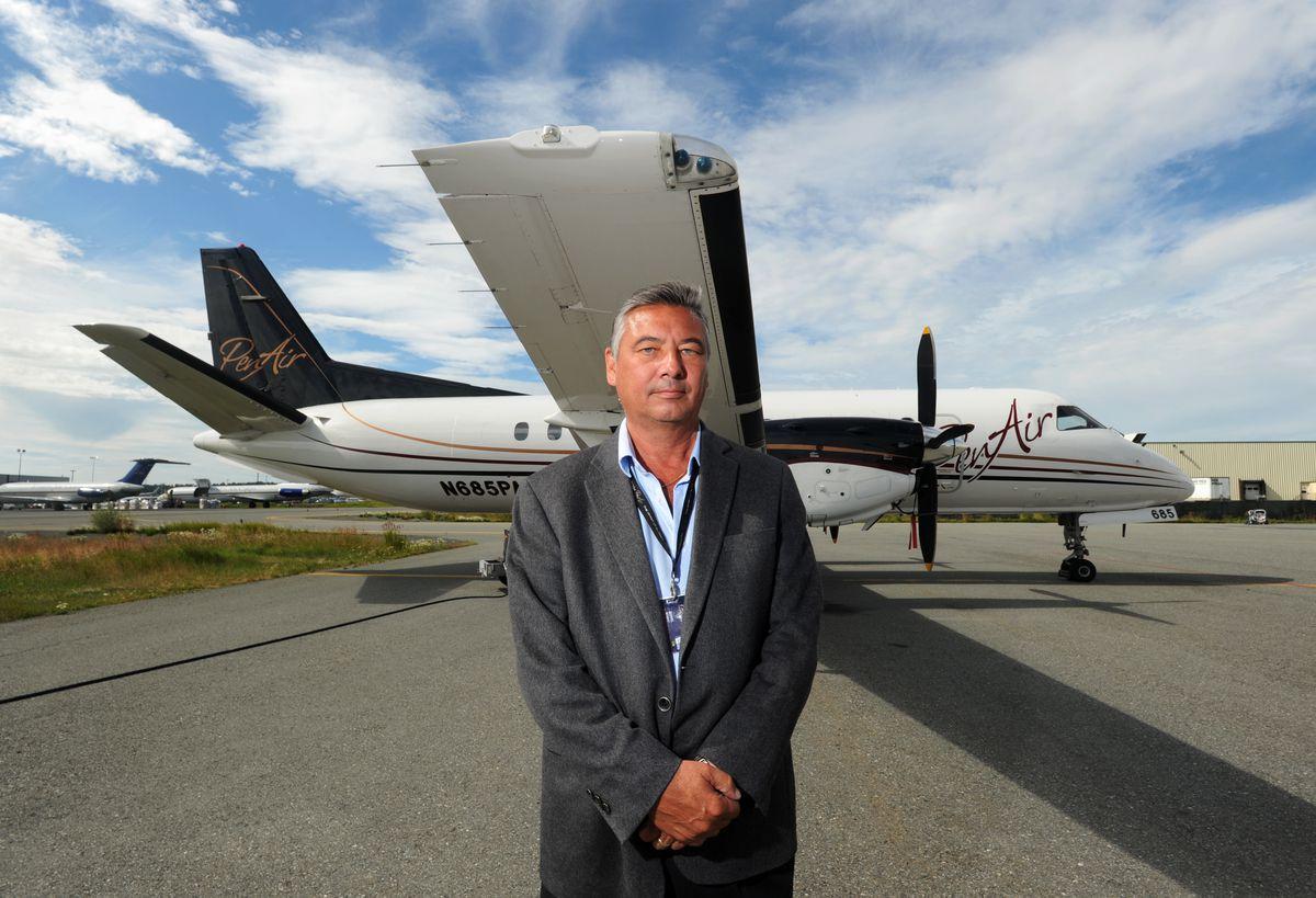 Danny Seybert is CEO of PenAir, which is seeking to reorganize. (Erik Hill / Alaska Dispatch News)
