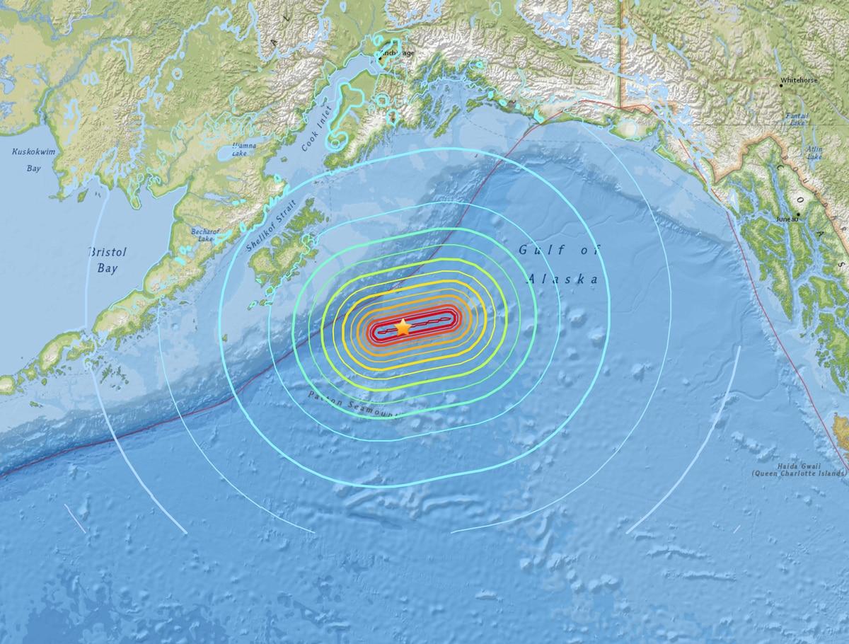 Resurrection Bay Alaska Map.7 9 Quake In Gulf Of Alaska Spurs Tsunami Alerts Evacuations