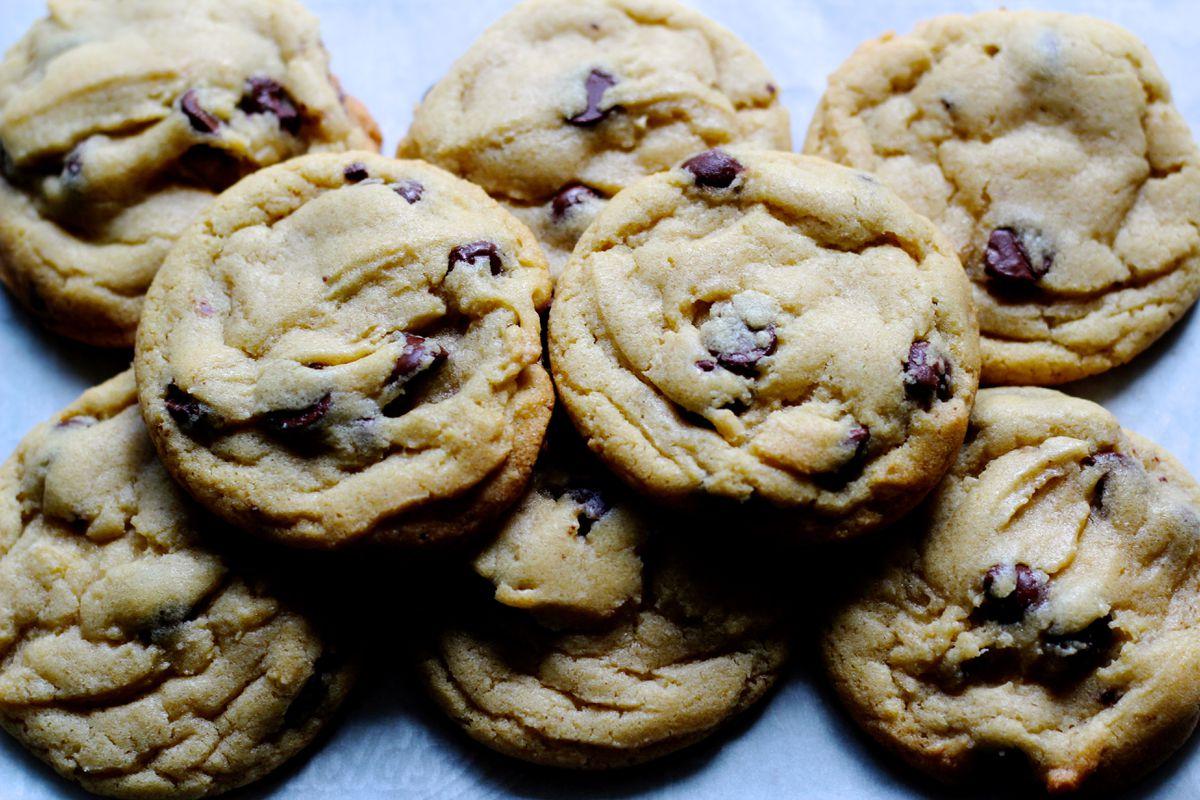 Fresh mint chocolate chip cookies (Maya Wilson / Alaska from Scratch)