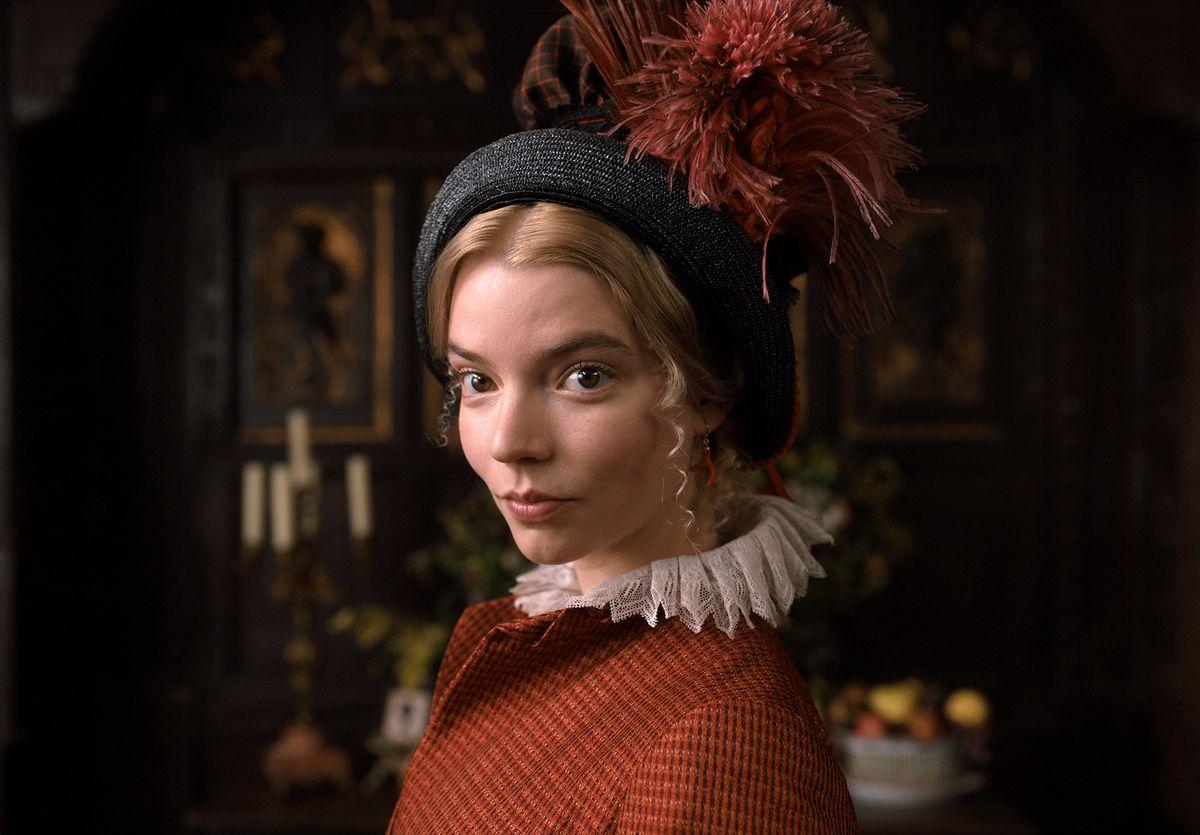 Anya Taylor-Joy stars as Emma Woodhouse in director Autumn de Wilde's