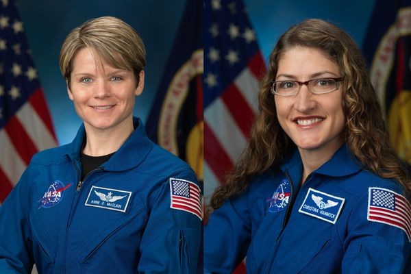 Christine Koch and Anne McClain are scheduled to conduct their mission March 29.