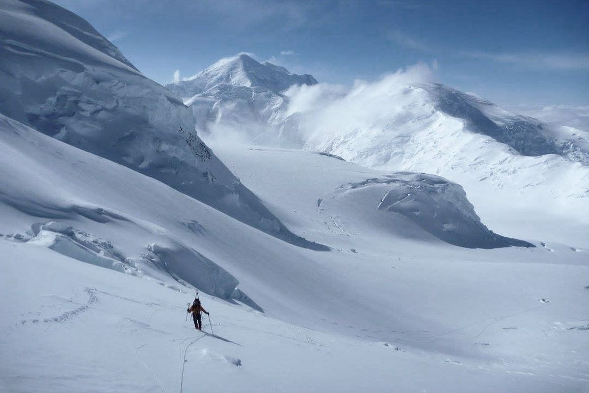 Forrest Barker and Connor Chilcott of Seattle ascended Denali via the Cassin Ridge, logging the first summit of the season on April 16, 2017.