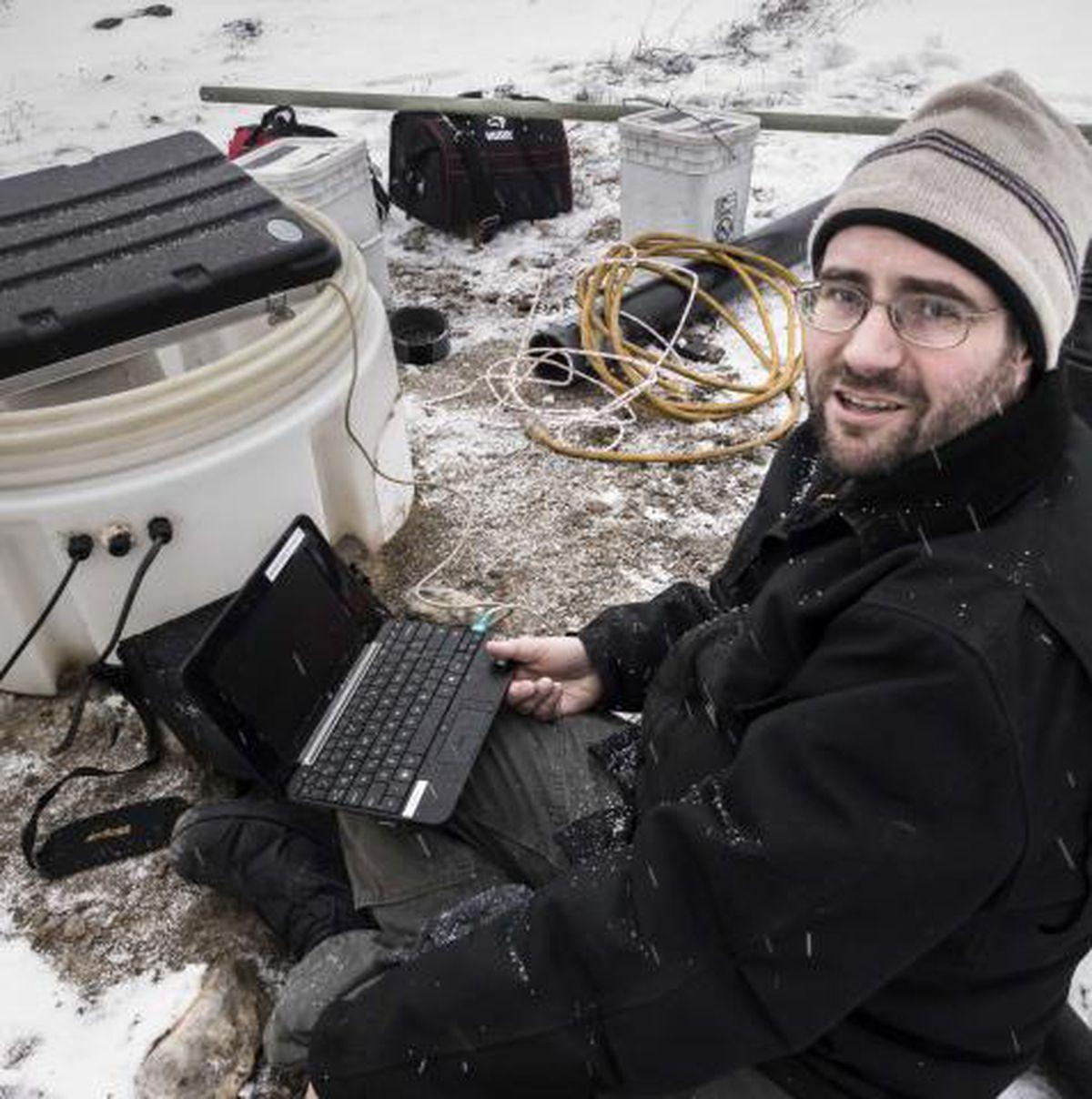 Ian Dickson is the social media manager for the Fairbanks-based Alaska Earthquake Center. (Courtesy Ian Dickson)