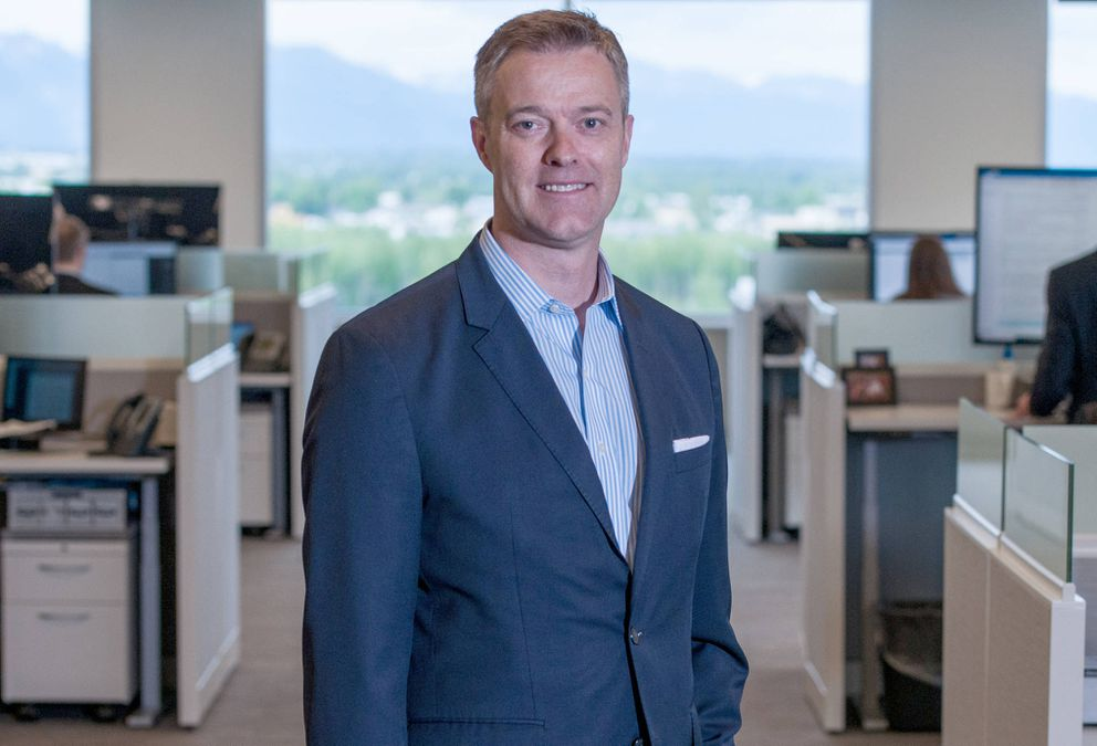 McKinley Capital Management CEO Rob Gillam will have his team begin seeking out prospects for in-state investments after being allocated $100 million from the Alaska Permanent Fund Corp. (Michael Dinneen photo for Alaska Journal of Commerce)