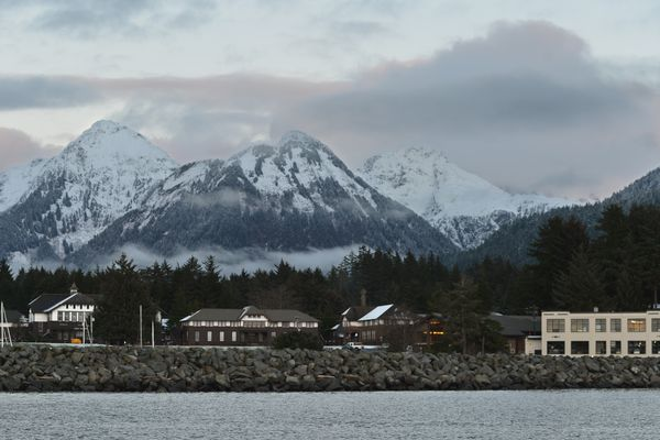 The Sheldon Jackson campus is pictured Sunday, Dec 13, 2015. (Photo by James Poulson, Sitka Sentinel)