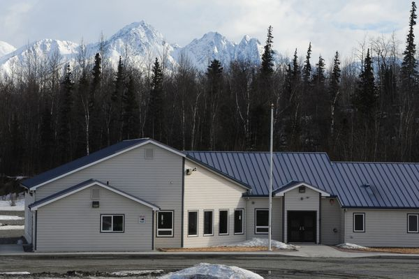 Valley Oaks, a new 16-bed residential women's substance abuse treatment center operated by faith-based nonprofit Set Free Alaska, is scheduled to open in September off Bogard Road near Palmer. Wednesday, April 5, 2017. (Bill Roth / Alaska Dispatch News)
