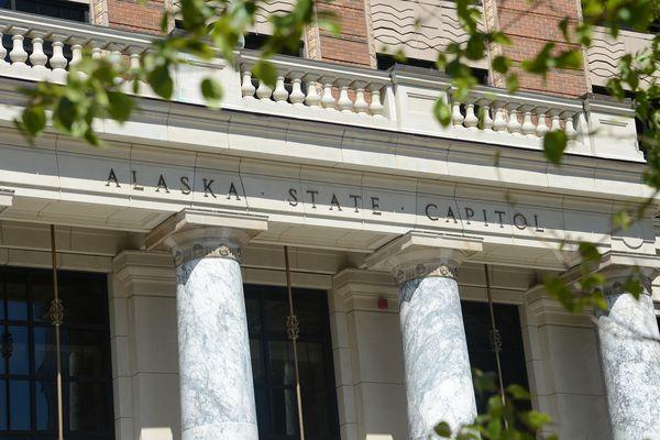 The Alaska State Capitol is seen Monday, June 7, 2021 in Juneau. (James Brooks / ADN)