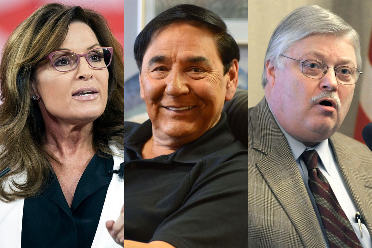 Alaskans Sarah Palin, Jerry Ward and Bob Gillam all have connections with President-elect Donald Trump.