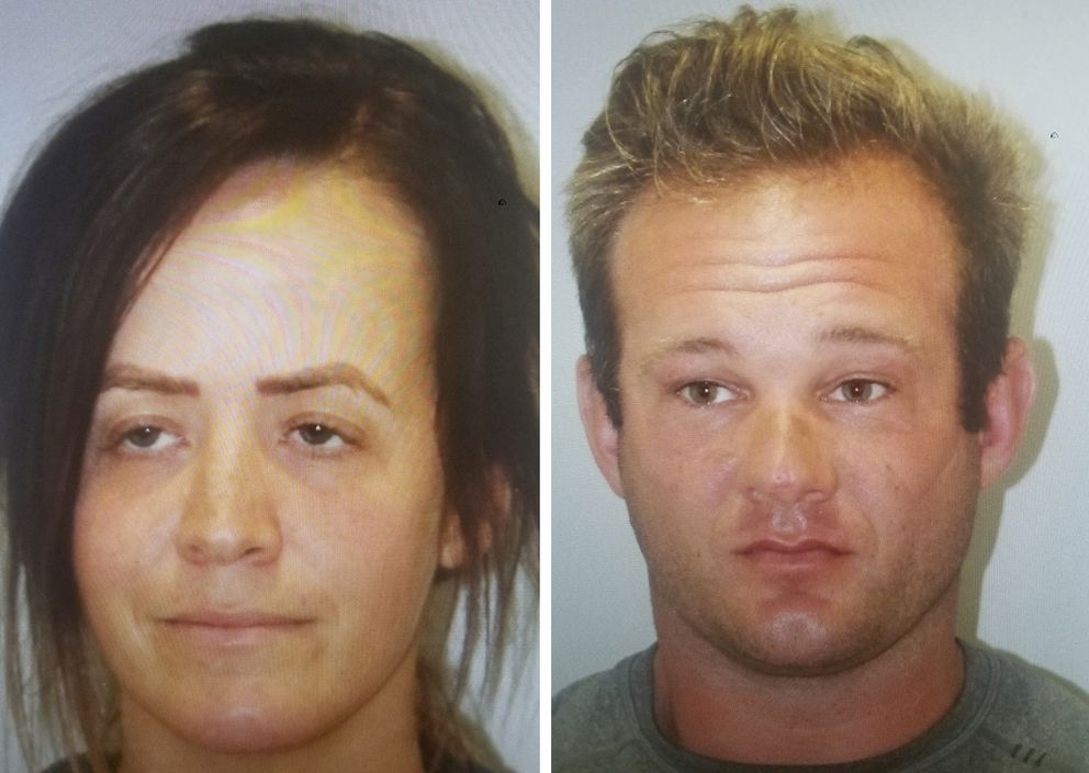 These undated photos provided by the Kauai Police Department show Desiree Marvin, 31, of Alexandria, Va., Adam Schwarze, 36. (Kauai Police Department via AP)