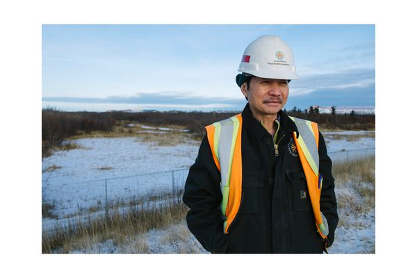 Larry Le, project superintendent.