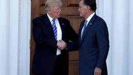 After scathing commentary by Romney, Trump urges him to be a team player