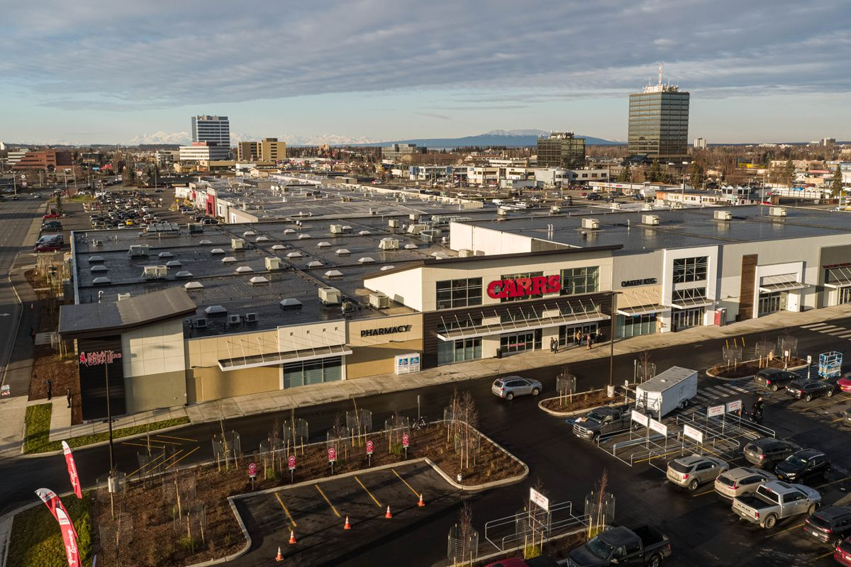 The Midtown Mall on Tuesday. (Loren Holmes / ADN)