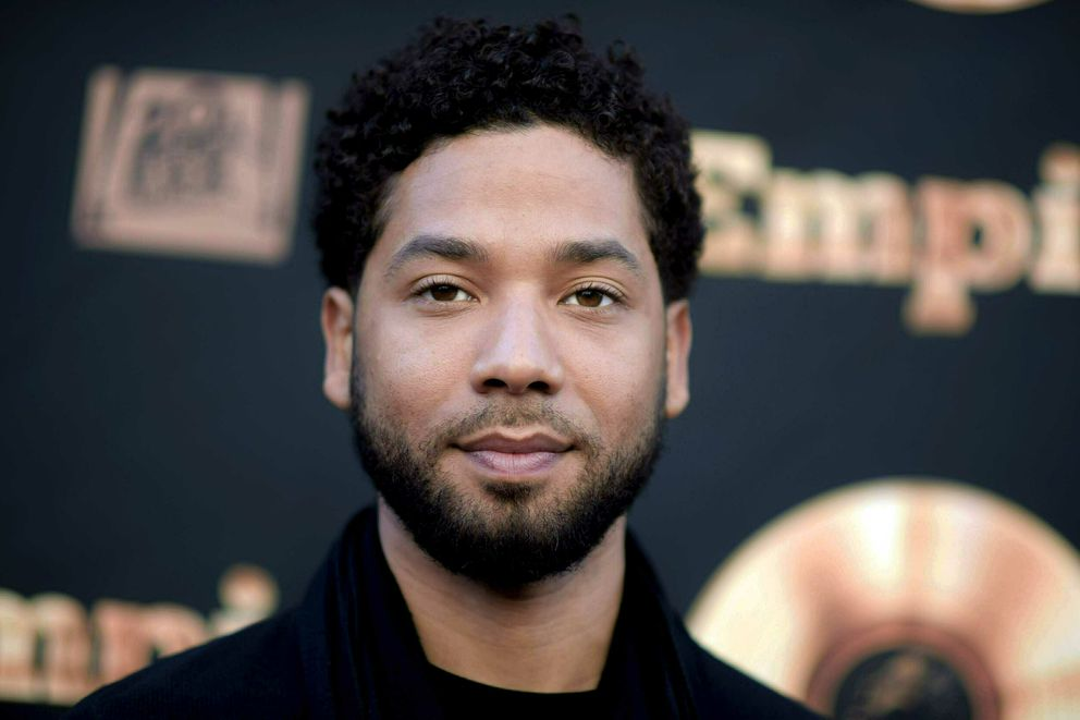 FILE - In this May 20, 2016 file photo, actor and singer Jussie Smollett attends the 'Empire ' FYC Event in Los Angeles. A police official says 'Empire ' actor is now considered a suspect 'for filing a false police report ' and that detectives are presenting the case against him to a grand jury. Smollett told police he was attacked by two masked men while walking home from a Subway sandwich shop at around 2 a.m. on Jan. 29. He says they beat him, hurled racist and homophobic insults at him and looped a rope around his neck before fleeing. (Richard Shotwell/Invision/AP, File)