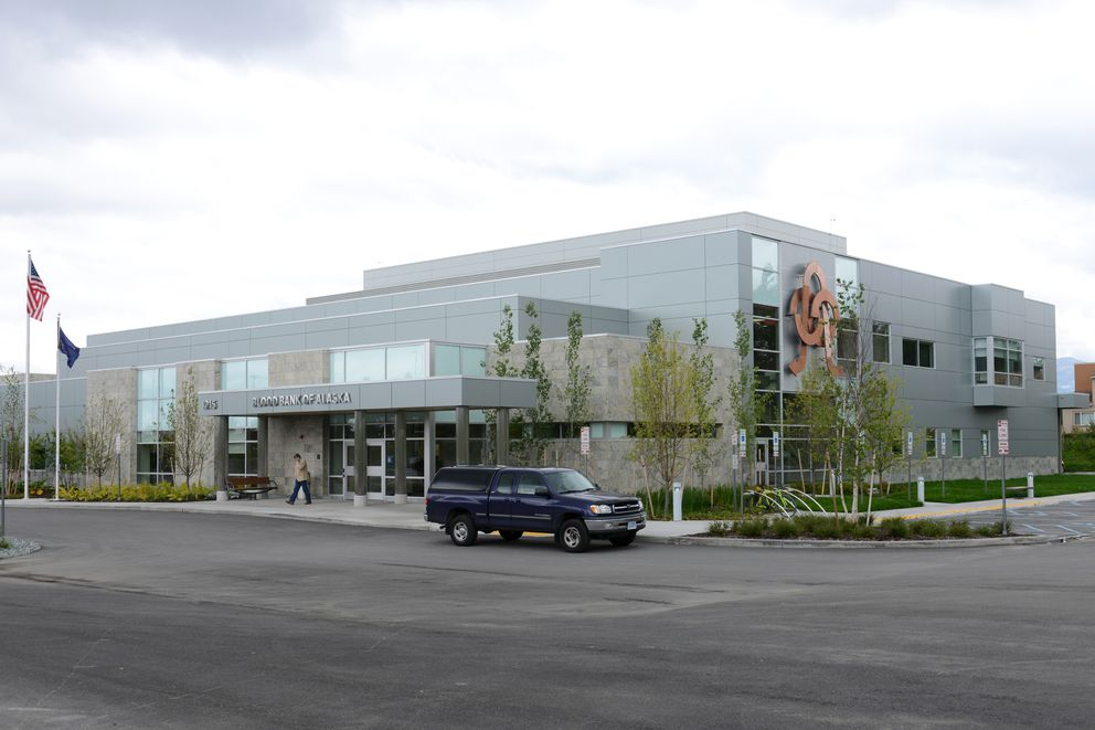The Blood Bank of Alaska occupies a new 57,000-square-foot building in East Anchorage. (Erik Hill / Alaska Dispatch News)