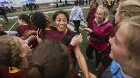Another Dimond-South girls soccer classic ends with the Lynx winning the state title in overtime