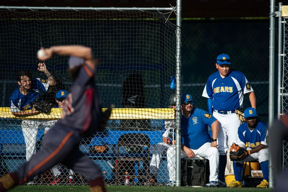 The brief Alliance Baseball League season started last week and ends in late July. (Loren Holmes / ADN)