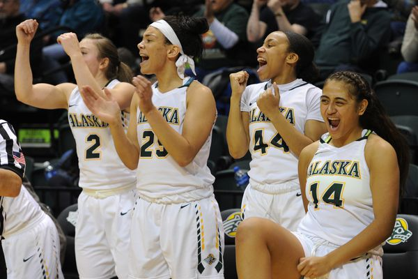 The UAA Seawolves defeated Maryland Eastern Shore Hawks 69-59 during the first day of the GCI Great Alaska Shootout in the Alaska Airlines Center at UAA on Tuesday, Nov. 21, 2017. (Bill Roth / ADN)