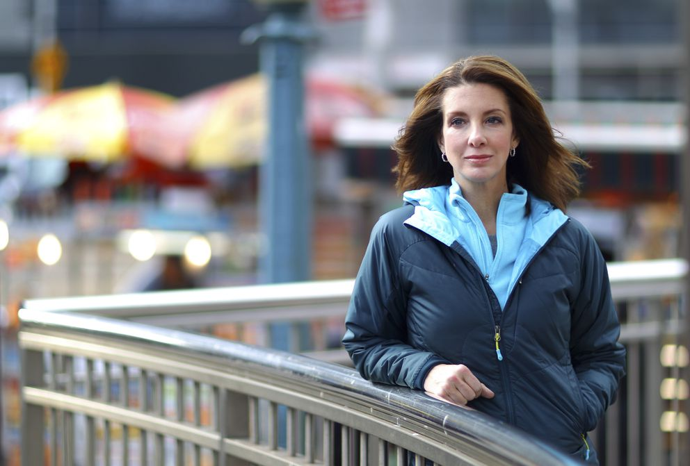 Shannon Watts, who founded the activist group Moms Demand Action for Gun Sense in America after the Sandy Hook massacre, in New York, Jan. 19, 2013. (Chang W. Lee/The New York Times file)