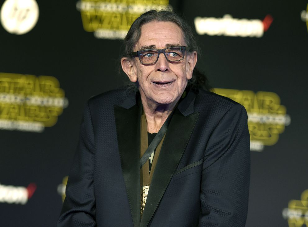 In this Dec. 14, 2015, file photo, Peter Mayhew arrives at the world premiere of 'Star Wars: The Force Awakens ' in Los Angeles. (Photo by Jordan Strauss/Invision/AP, File)