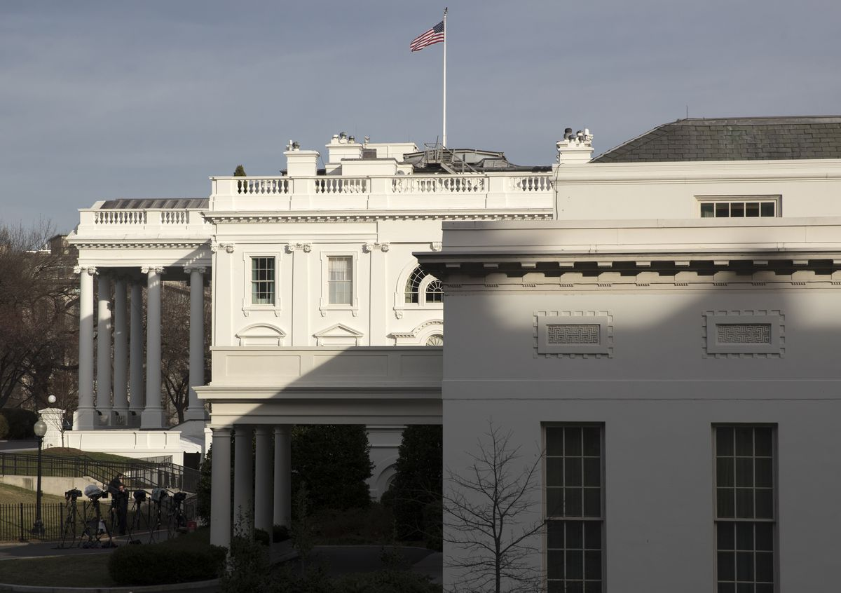 The West Wing of the White House in Washington, D.C. (Stephen Crowley/The New York Times)